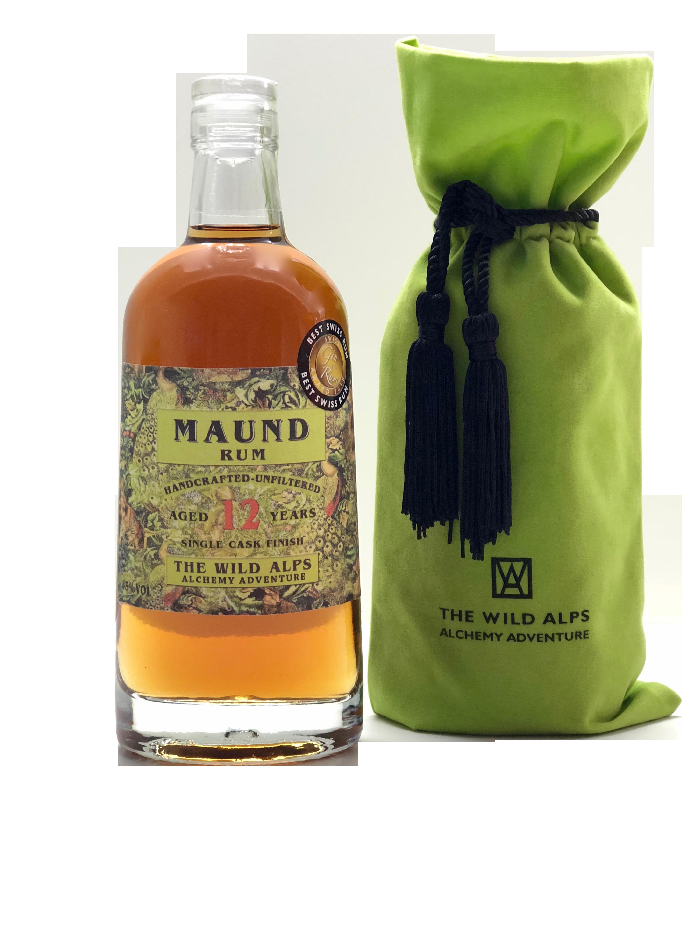 Maund Rum mit Beutel