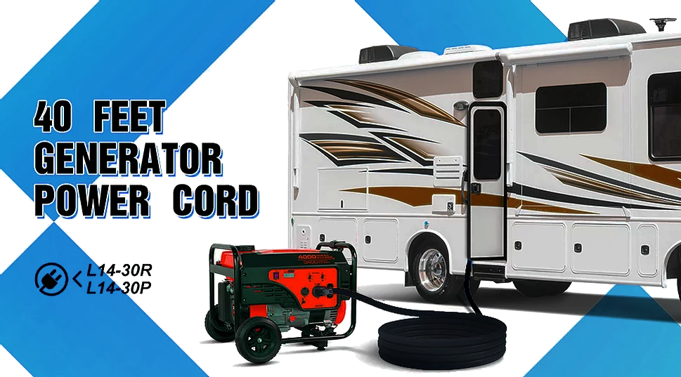 40 foot generator Power Cord L14-30