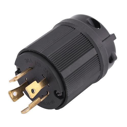 L14-30P Generator RV Plug Receptacle AC 125v-250v 30A 4 Pin  L14-30