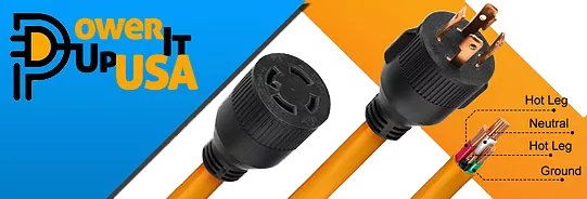 Portable Generator Power Cords and Adapters