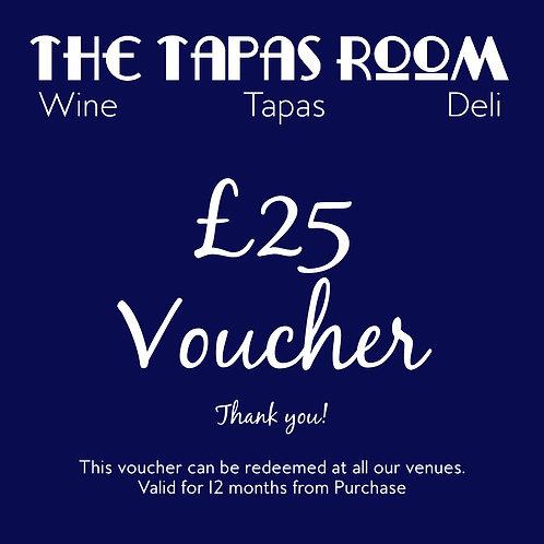 £25 Food & Drink Voucher