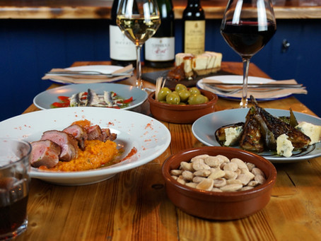 Say it with Tapas....and Wine.