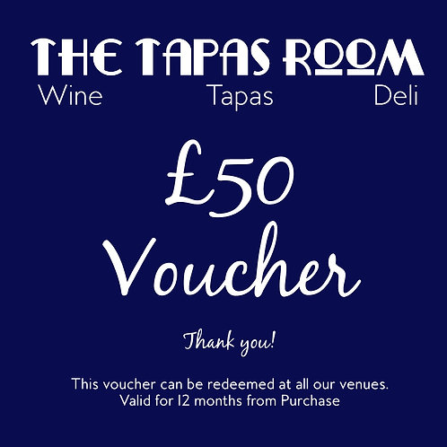 £50 Food & Drink Voucher