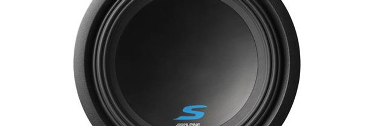 """Alpine S-Series 12"""" subwoofer with dual voice coils"""