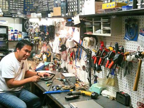 ELECTRONIC EQUIPMENTS REPAIR