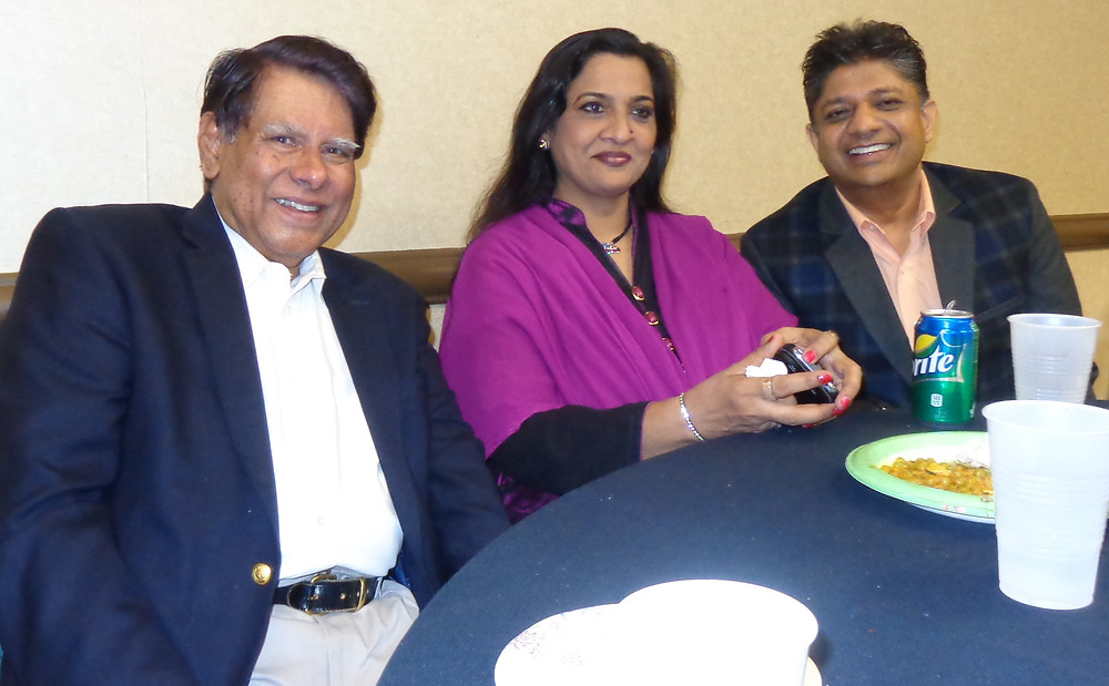 Dr. Ahmed with Haya Lata at a dinner- April 23rd 2015.jpg