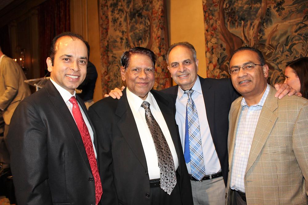 Mr. Hammond & Dr Ahmed With Dr Attique Khan & Mr Altaf Hussain