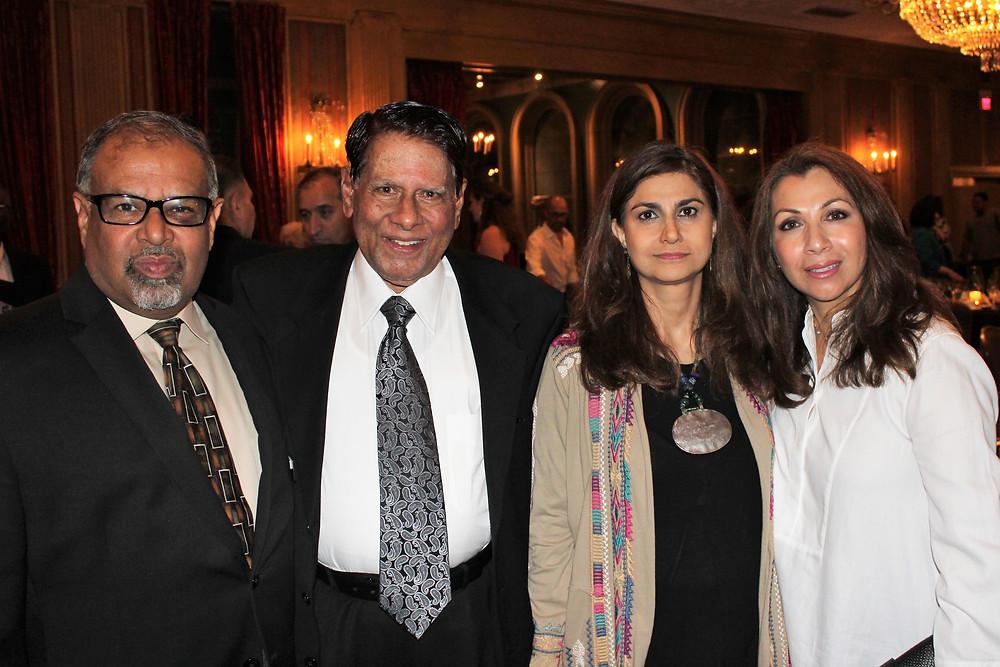 Dr Ahmed With Mr. Peracha, Ms. Talat Ashai & Dr Asra Khan