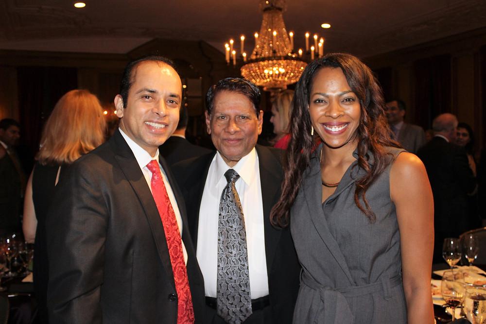 Dr. Ahmed With John Hammond (Chair MCC), Talaun Thomson(Ex Director MCC)