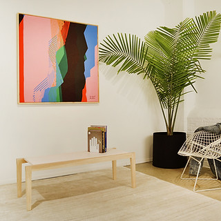 Wall Art by OokLoop Studio Coffee Table & Ceramics by radvalley