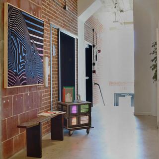 Wall Art & Video Art by OokLoop Studio  Bench & Ceramics by radvalley