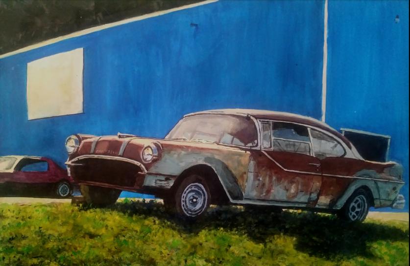 Rust on Blue
