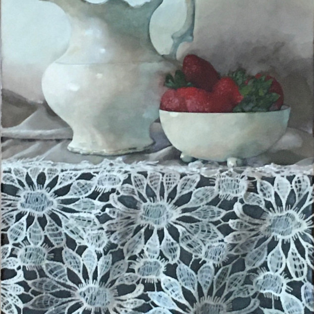Strawberries and Cream by Boyd Titus