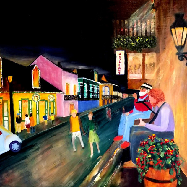 Night Life - New Orleans by Carol Lytle