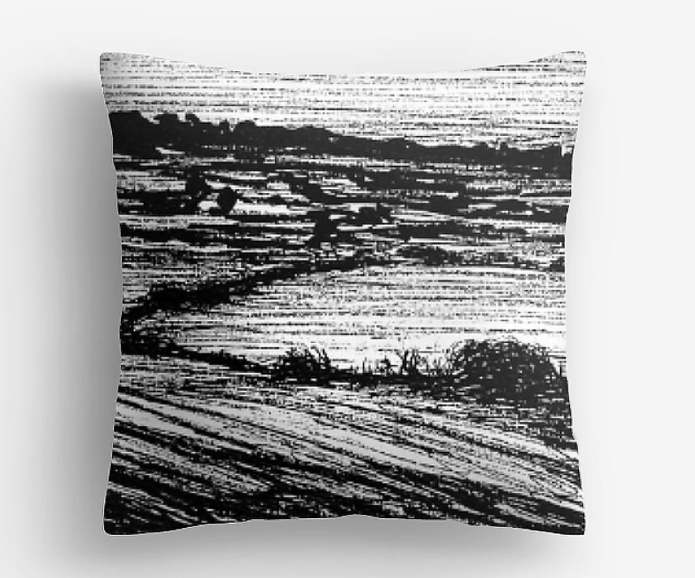 Devon-Countryside-Drawing,-cushion-by-ru