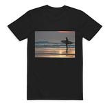 Sunset Surfer, Croyde, North Devon Tshir