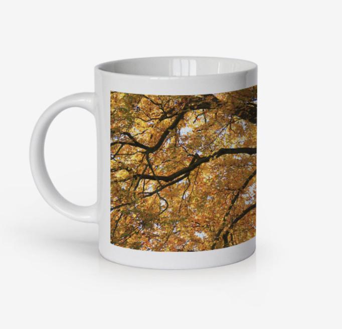 Autumn Tree, North Devon, Mug by Russell
