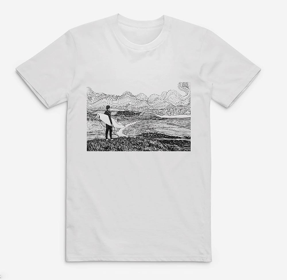 croyde-surfer-drawing-tshirt-by-russell-