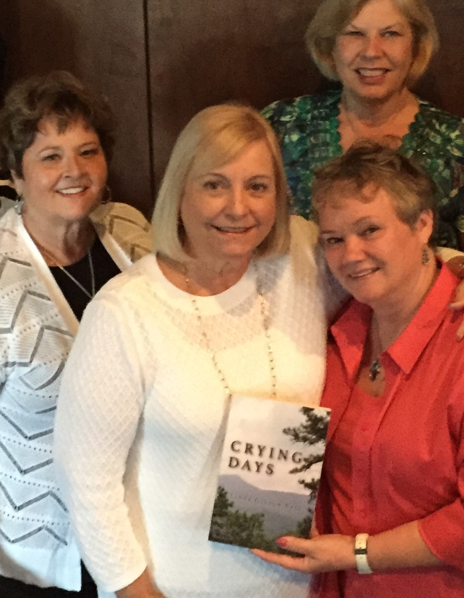 Linda Ress has met many fans of her novel, Crying Days.