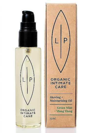 Lip intimate care - Shaving&Moisturising, oil green mint+ylang ylang