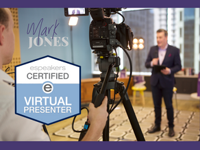 It's official: I'm a Certified Virtual Presenter ✅  🎥