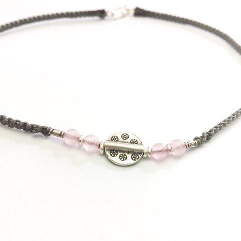 Necklace - chocker 99.9% Silver