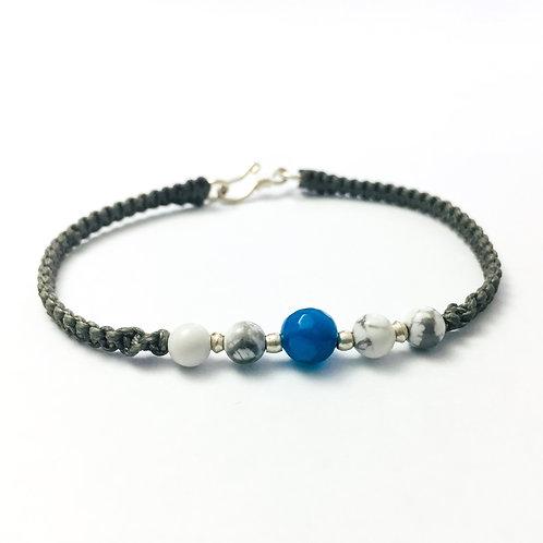 Clarity & Balance unisex bracelet