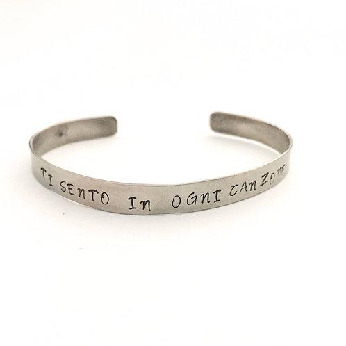 Ti sento in ogni canzone bracelet