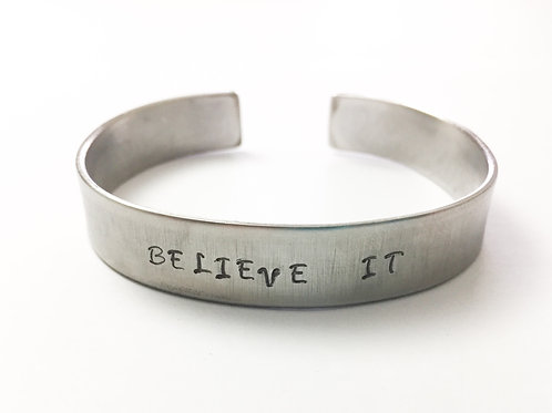 Believe it bracelet