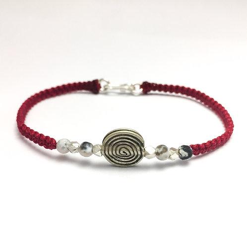 Silver handmade bracelet