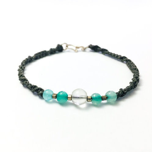 Serenity & Positivity unisex bracelet