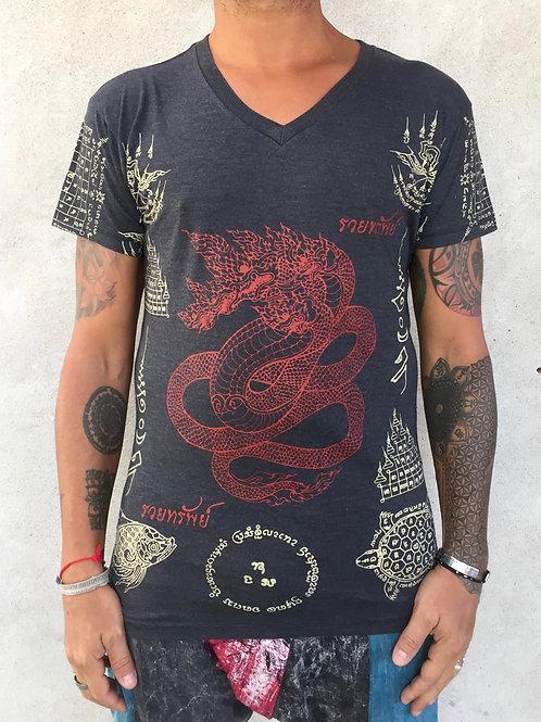 Sak Yant dragon T-SHIRT