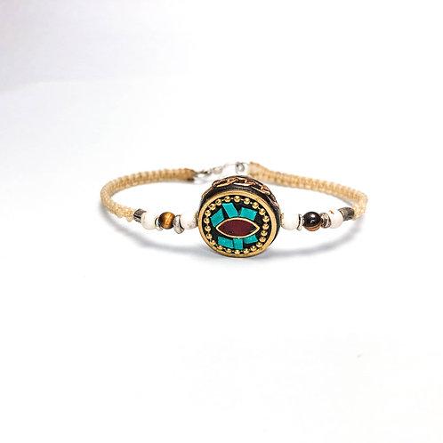 Nepal charm bracelet