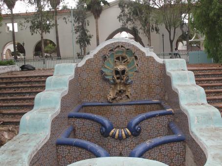 """""""La Fuente del Fauno, Casino Agua Caliente, Tijuana"""""""