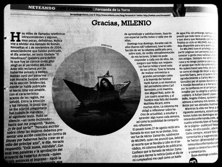 Gracias, Milenio