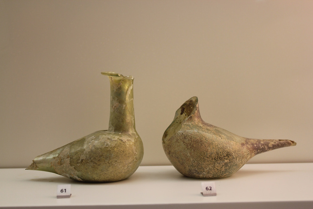 AUB Archaeological Museum - Roman perfume vessels