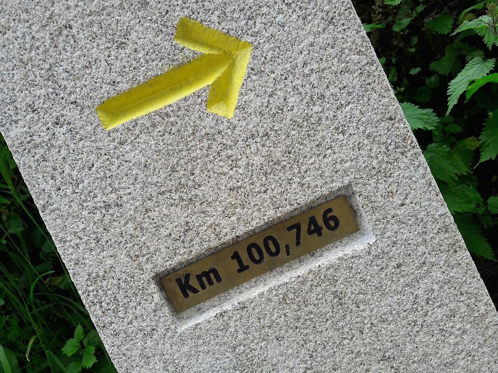 Camino de Santiago - 100 km to go