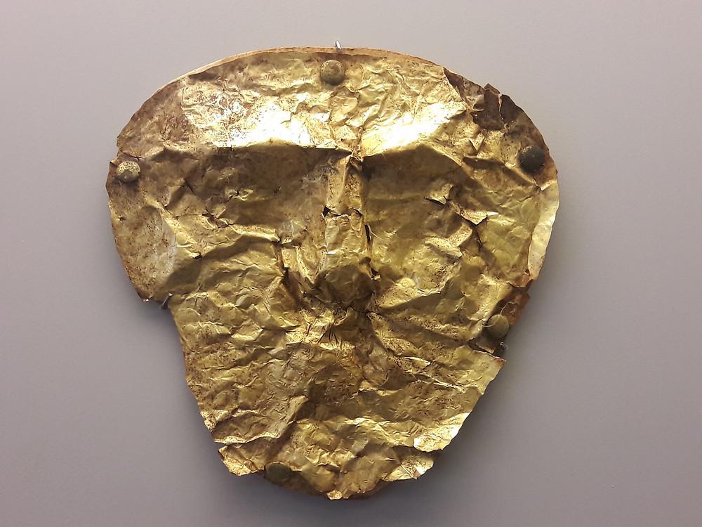 AUB Archaeological Museum - Greek golden mask
