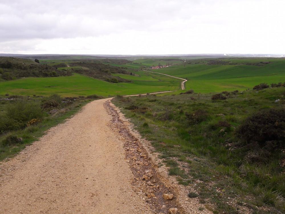 Camino de Santiago - approaching Villaval