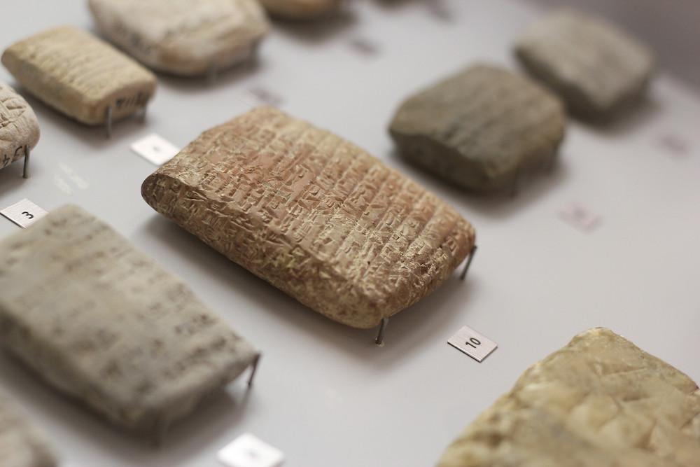 AUB Archaeological Museum - Cuneiform clay tablet