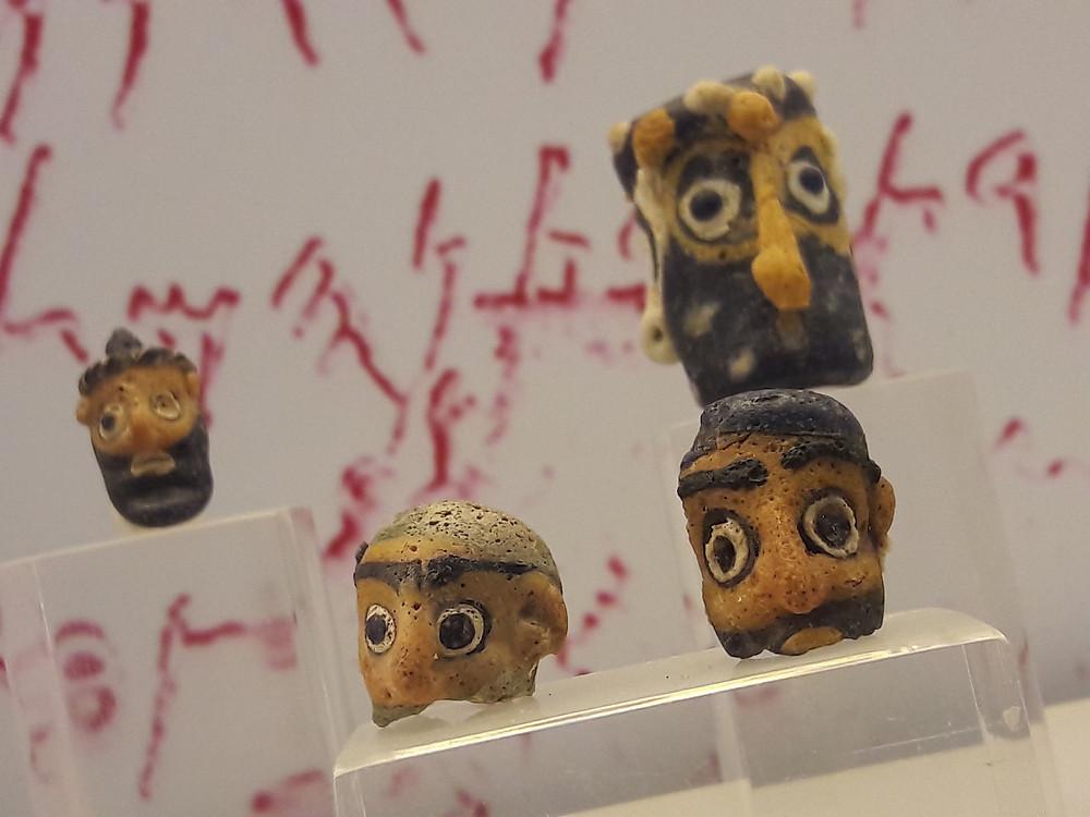 AUB Archaeological Museum - Phoenician beads