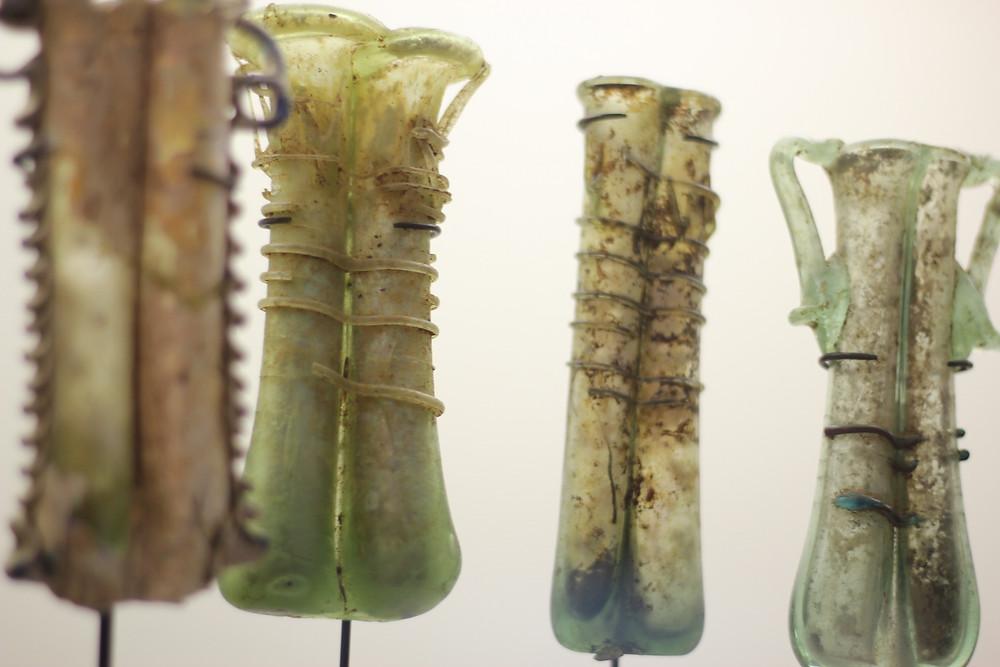 AUB Archaeological Museum - Roman kohl bottles