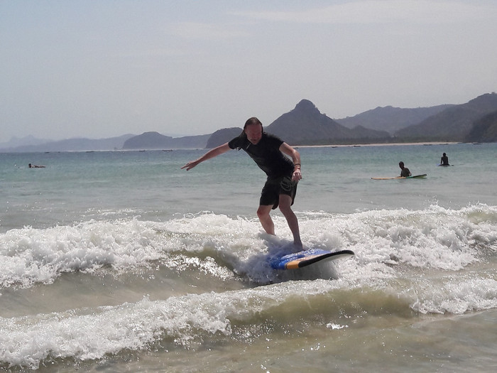 Surfing in KUTA, Lombok - How to live your Point Break dream