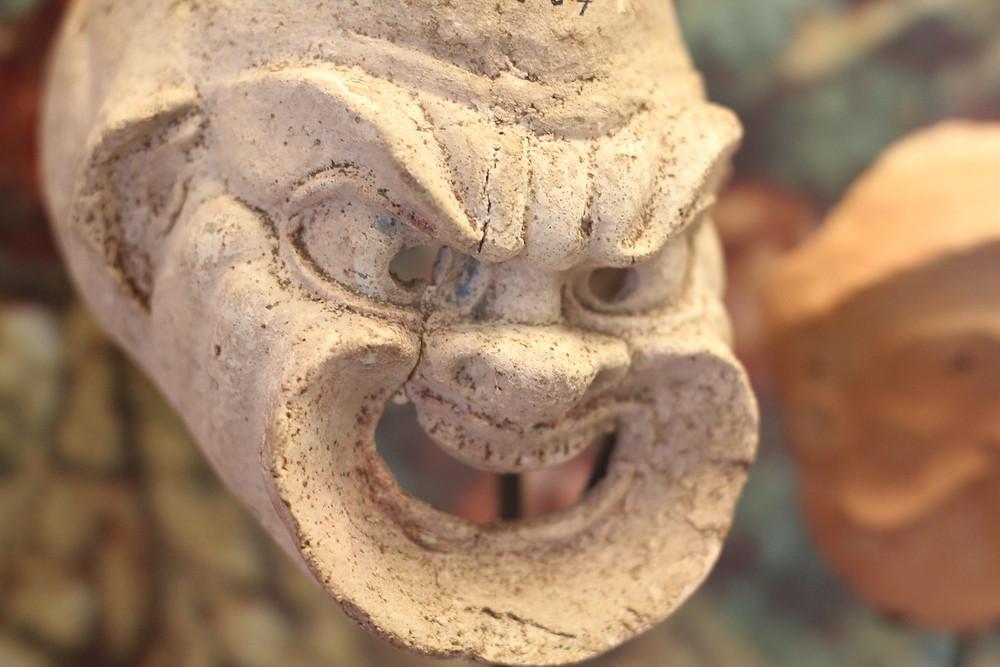 AUB Archaeological Museum - Greek theatre mask