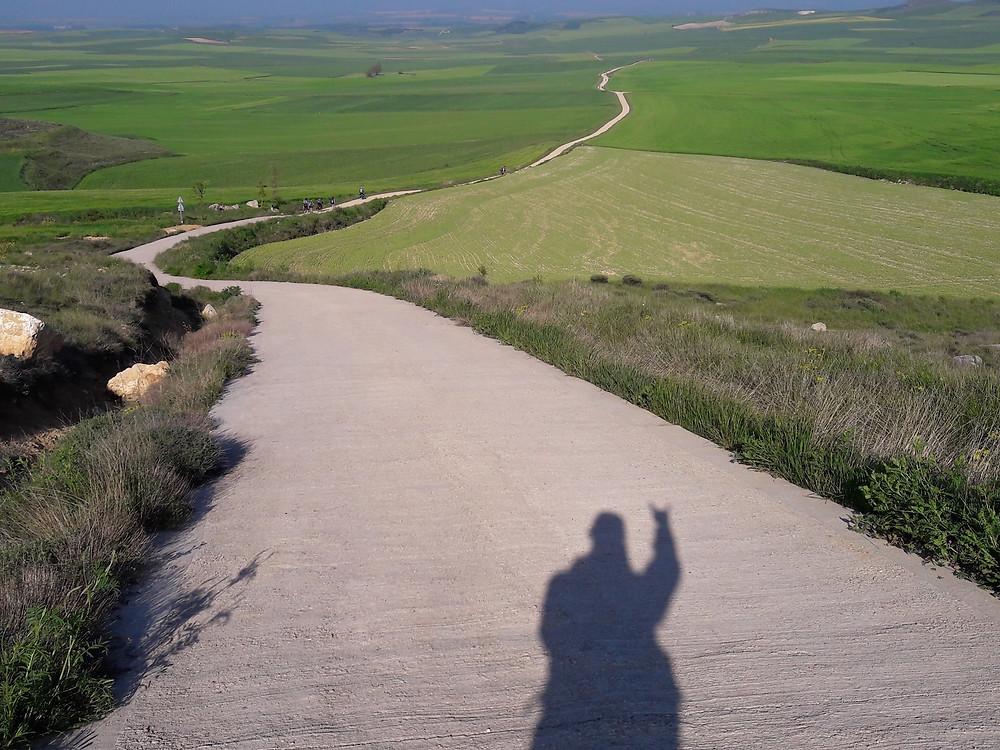 Camino de Santiago - the Meseta rocks