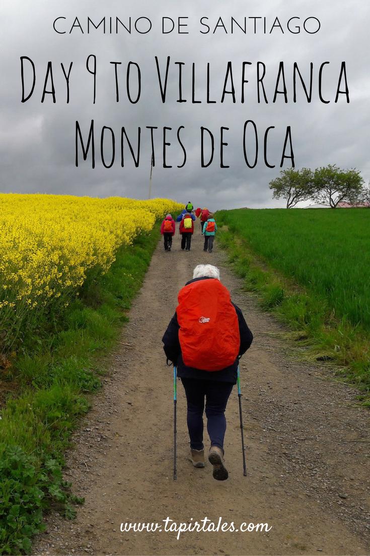 Camino de Santiago - Villafranca Montes de Oca