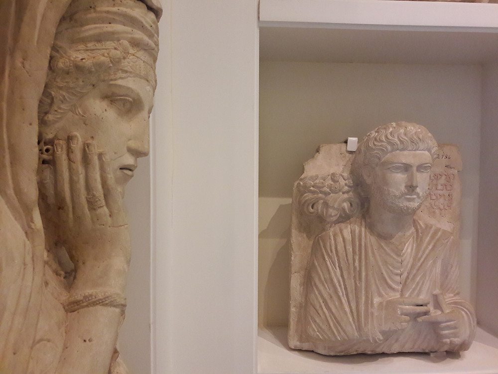 AUB Archaeological Museum - Palmyra tomb sculptures