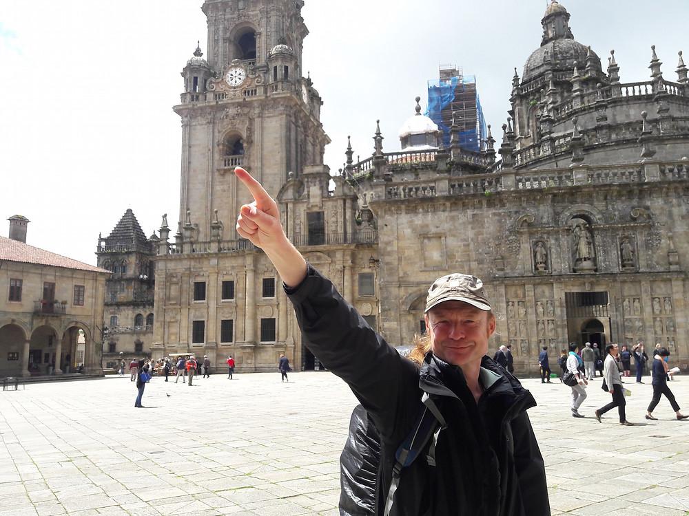 Santiago de Compostela - I did it!
