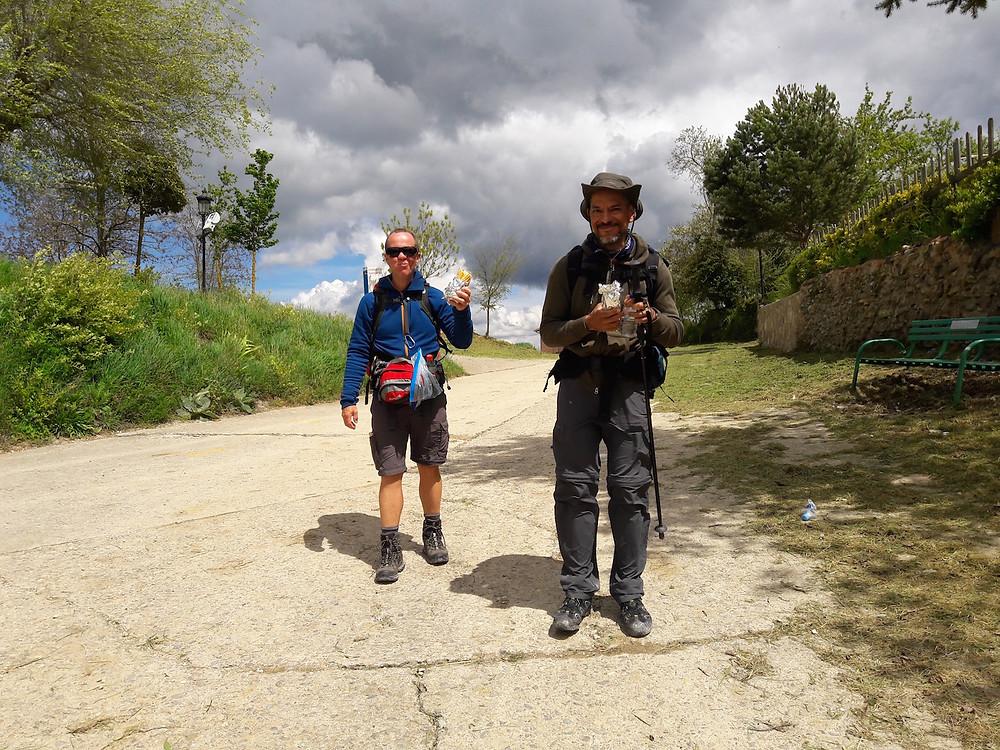 Camino de Santiago Villambistia Morten & Ernesto
