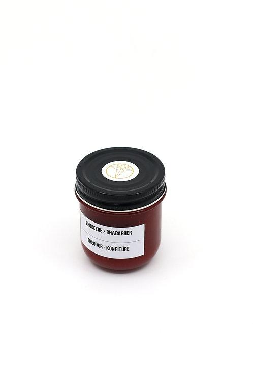 Konfitüre Erdbeere / Rhabarber